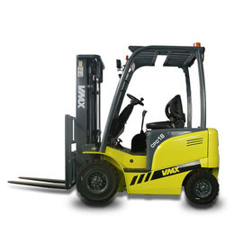 China electric lifts for warehouse reach lift truck CPD18 stand up electric forklift proveedor